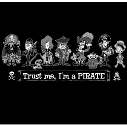 Pirates - Camiseta unisex