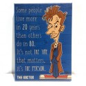 10th Doctor Quote - Canvas