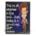 11th Doctor Quote - Canvas