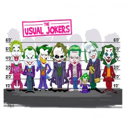 Jokers - Toile