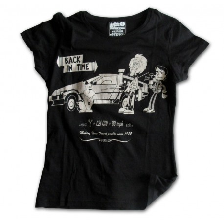 'Back In Time' woman Tee