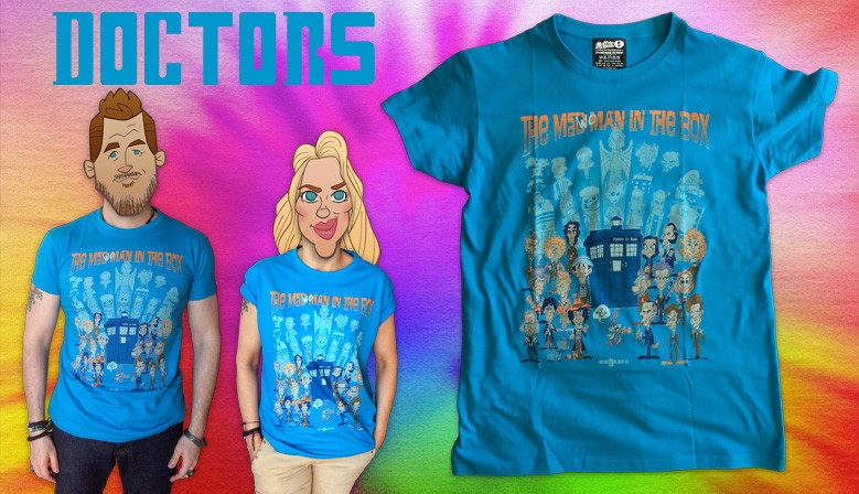 Tshirt Doctor Who