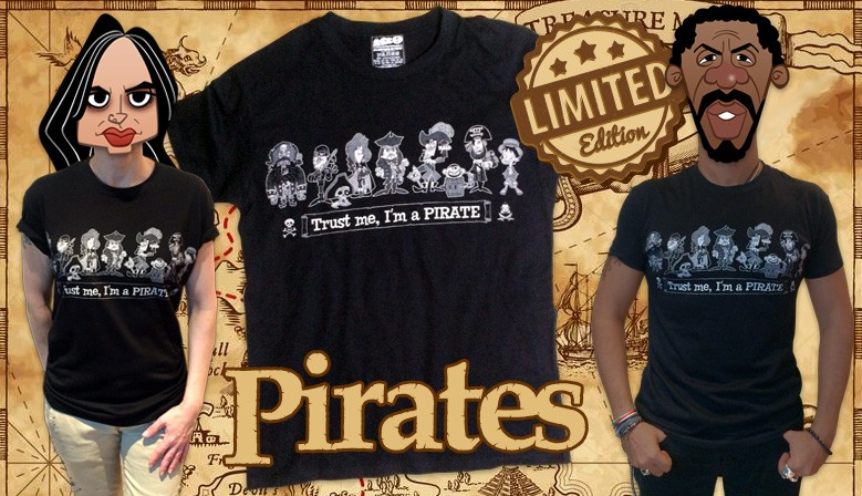 Camiseta Pirates