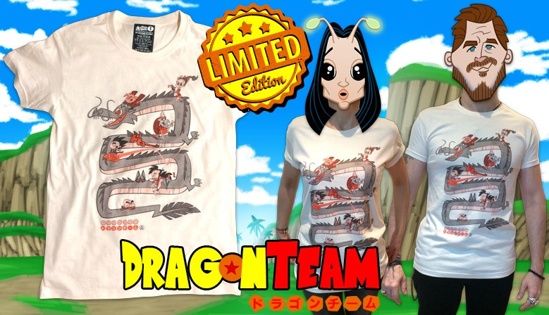 Camiseta Dragon Team