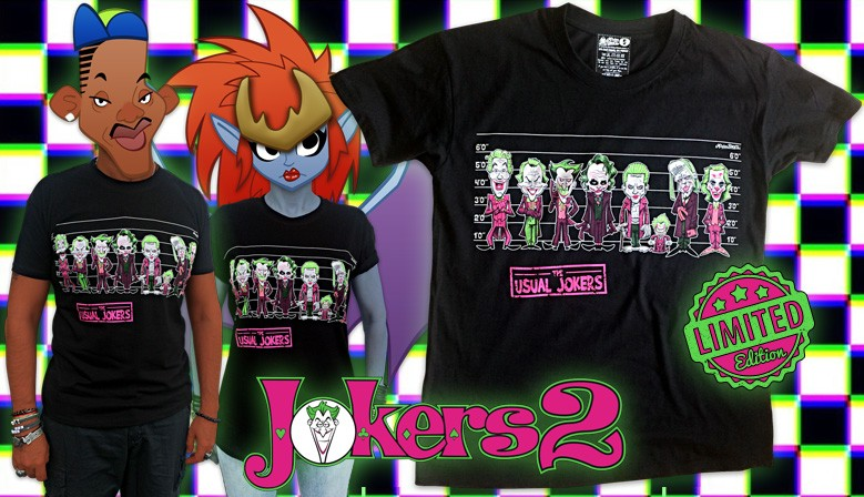 Camiseta Jokers 2